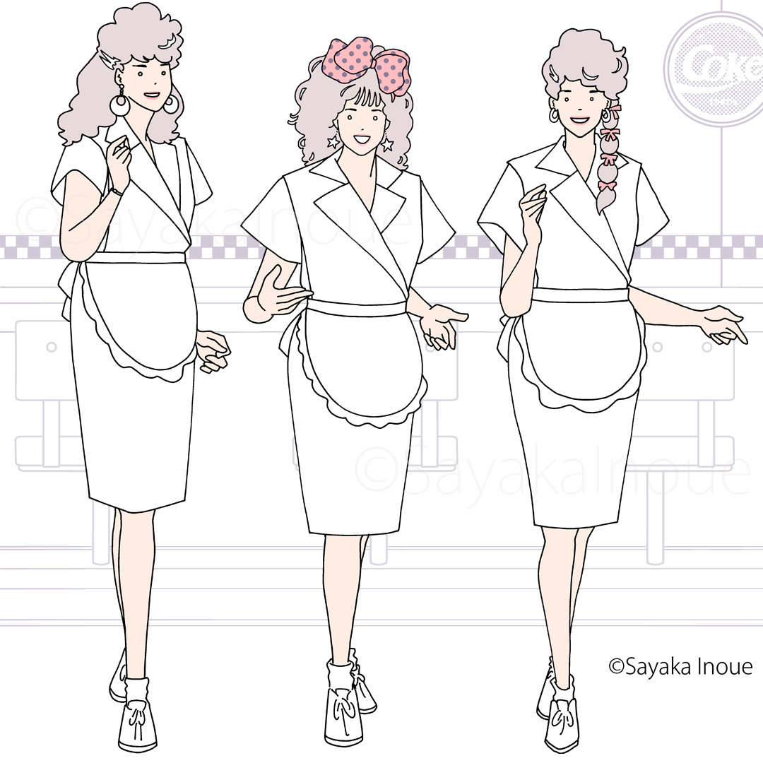 drawing25_waitreses